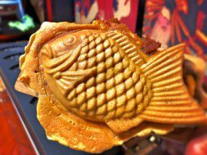訪日観光客に大人気!求楽で日本のソウルフードたい焼きを手作り体験!